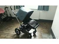 Bugaboo cameleon 3 with seat, cot and extras