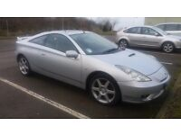 Toyota Celica Great looking sports car 1.8 Coupe Silver