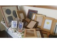 picture frames job lot ....................docking pe31