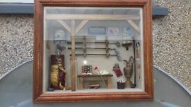 vintage golf shadowbox