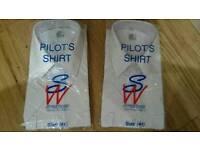 "Pilot Shirts 2x NEW 16"" inch (size 41)"