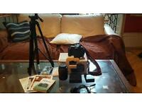 canon 60D and extras