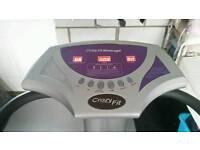 Crazy fit massage machine vibrating plate.