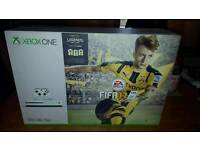 BRAND NEW XBOX ONE S 4K BLU RAY HDR 500GB WITH FIFA 17