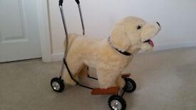 Hamley's push-a-long Dog