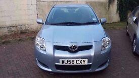 2008; Plate 58 Toyota Auris TR 2.0 diesel* 5 Door **MOT* - 26 June 2017
