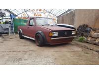 Vw caddy mk1 pick up project Jetta front end 1.6d May px vw