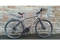 FULLY SERVICED VOODOO MARASA HIBRID WITH HYDRAULIC BRAKES BICYCLE