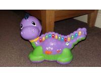 Leapfrog purple lettersaurus