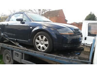 Audi tt roadster - side damage