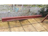Steel lintel, NEW.. 300cm x 10cm x 18cm, £50.
