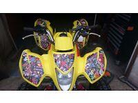 Suzuki LTZ 250cc Quad Sport Bike ATV On / Off , Road Legal MOT till Feb18 Marvel