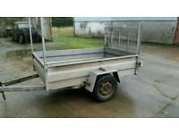 7 X 4 single axle trailer ramp door Cookstown