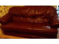 3 Sofas - Three-seat sofa and 2 Armchairs