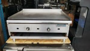 "Plaque 36"" au Gaz avec Thermostat IMPERIAL 36"" grill, Griddle Gas"