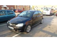 VAUXHALL CORSA 1.2 PETROL SXI+ IN BLACK - NOT A VW, FORD, RENAULT, MG, PEUGEOT OR CITROËN