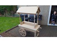 Wedding candy sweet cart