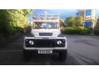 Land Rover Defender County 110 300tdi.