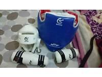 WTF teakwondo kit