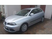 2007 SEAT IBIZA 1.4 STYLANCE, ONLY81K, LONG MOT, JUST SERVICED, EXCELLENT CONDITION! (NOT VAUXHALL)