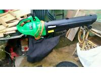 Leaf blower vacume excellent condition