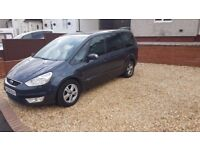 Ford Galaxy 2.0 tdci 7 seater low mileage full service History