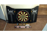 Darts Board Winmau Lakeside Dartboard World Championship Dart Set