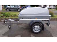 BRENDERUP 1150S CAMPING TRAILER WITH ABS LID AS NEW