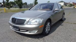 2007 Mercedes-Benz S-Class S550|Bluetooth|Sunroof|Leather|