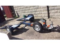 Tow dolly trailer car recovery (ex RAC)