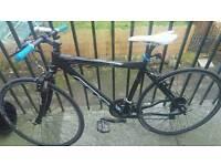 Swap felt hybrid for mountain bike