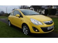 2013 Vauxhall Corsa Active 1L, Full MOT,Full service history, low mileage, excellent condition