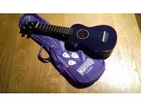 Purple Mahalo Ukelele (includes a bag and picks)