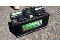 (SuperBatt 9000) 120AH 12V Sealed Led Acid Leisure Battery. Only a year old. 55% off Retail Price!