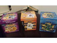 3 x Brain box games