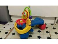 Fisher price 2 in 1ride on