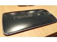 Motorola Nexus 6 Boxed Good Condition never refurbished original front and back. Free postage