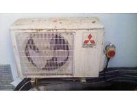 5 units Mitsubishi Air Conditioners full set