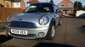 2008 Mini Hatchback 1.4 Silver 59000 Miles