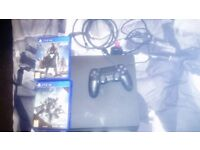 ps4 500gb slim black