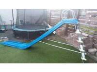 TP garden slide and extension .. Blue