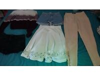 Bundle of women's clothes size 6-10