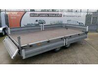 Brenderup builders plant trailer