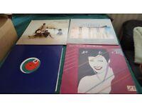 Ovinyl albums bag of singles/original 78's