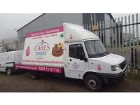 VERY RARE - ADVAN / Billboard VAN / Advertising Trailer Van / Advert Van - LOW MILEAGE - LDV CONVOY