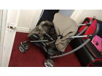 Graco Pram + Baby Car Seat
