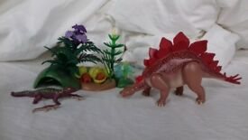 Playmobil Stegosaurus Nest and Babies 5232