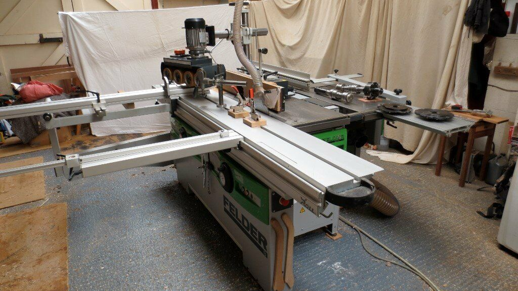 Felder CF741S Combination Woodworking Machine with accessories 3Phase