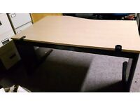 Office furniture beech executive office desks