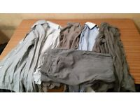 5 BRANDED Shirts , 1 Chinos Total 6 for £20